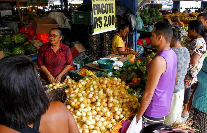 Batata inglesa e cebola são os itens com maior variação de estabelecimento para estabelecimento; 402% e 336%, respectivamente. Foto: Chico Bezerra/PJG (Foto: Chico Bezerra/PJG)