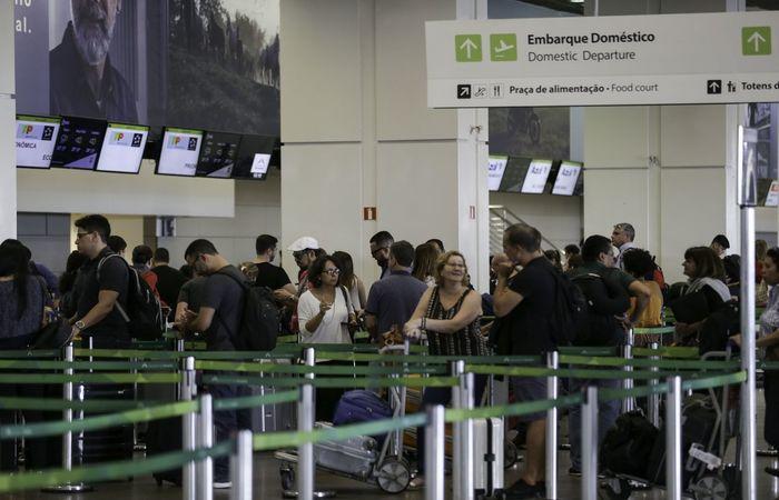 Em junho de 2018, os 7.163.396 passageiros embarcados representaram uma variação positiva de 3,4% em relação ao mesmo mês do ano passado. Foto: FabioRodrigues Pozzebom/Agência Brasil (Foto: FabioRodrigues Pozzebom/Agência Brasil)