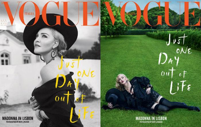 A maternidade e a rotina em Portugal foram os principais temas da entrevista. Foto: Vogue/Divulgação