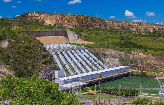 Furnas é o principal reservatório do Sistema Sudeste-Centro Oeste e sofre com o período de seca na região. Foto: Reprodução/Internet