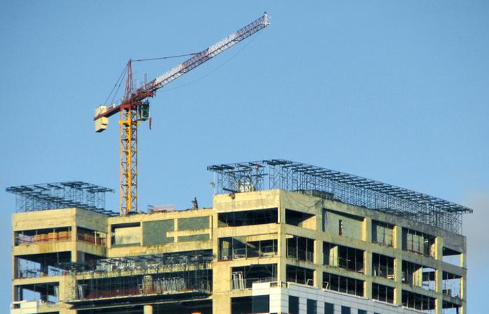 Entre os setores da economia, a principal alta veio da construção. Foto: Reprodução/Internet