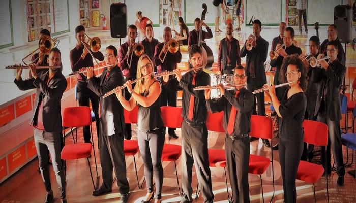 O concerto de encerramento do encontro ficou a cargo da Transversal Frevo Orquestra. Foto: Divulgação