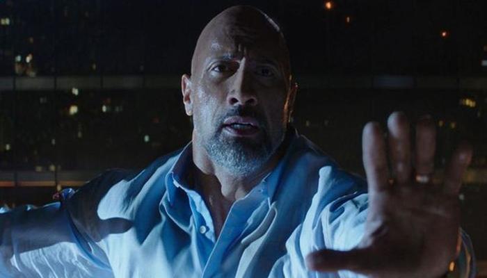 O dublê é primo de Johnson e estrela filmes com ele desde 2001. Foto: Seven Bucks Productions/Divulgação