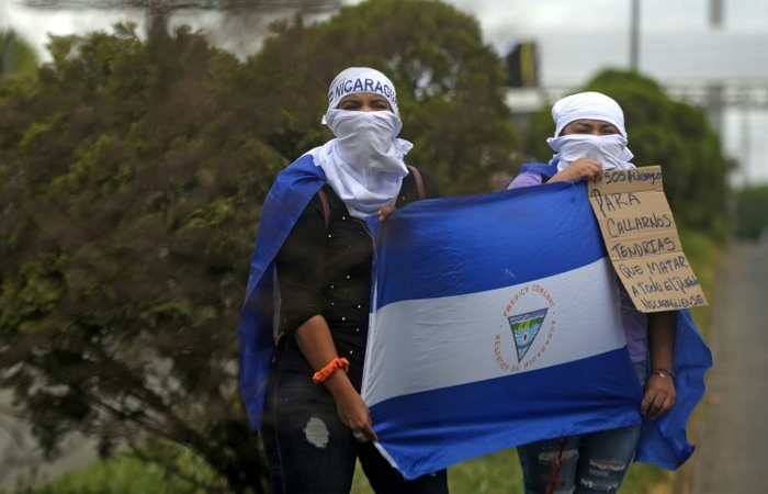A Nicarágua é palco de intensos protestos. Foto: AFP/MARVIN RECINOS (Foto: AFP/MARVIN RECINOS)