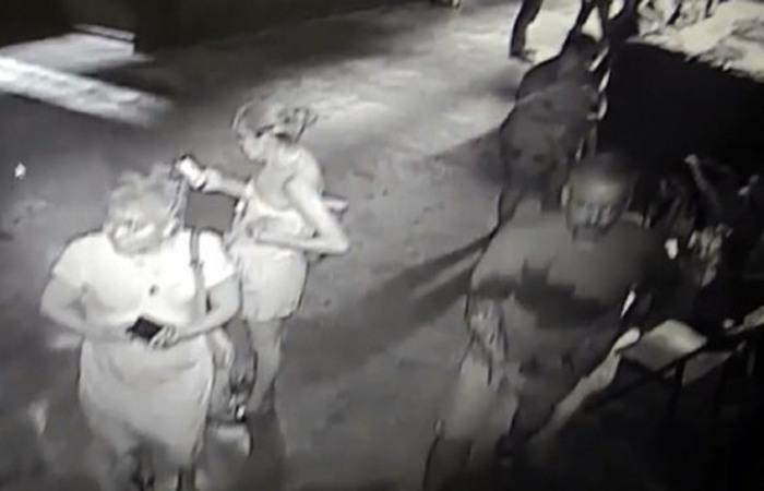 Um vídeo das câmeras de segurança registrou o momento em que três ladrões levaram o tubarão da pequena piscina onde foi exposto. Foto: HO / San Antonio Aquarium / AFP