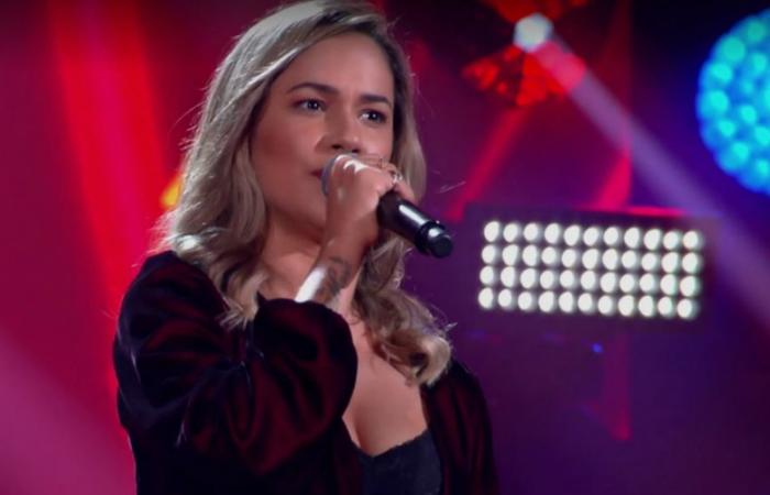 Após a apresentação, Lulu Santos chegou a elogiar a voz da pernambucana. Foto: Globo/Reprodução