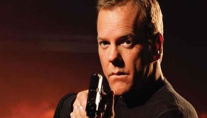 Sutherland interpretou Jack Bauer por oito temporadas. Foto: Fox/Divulgação