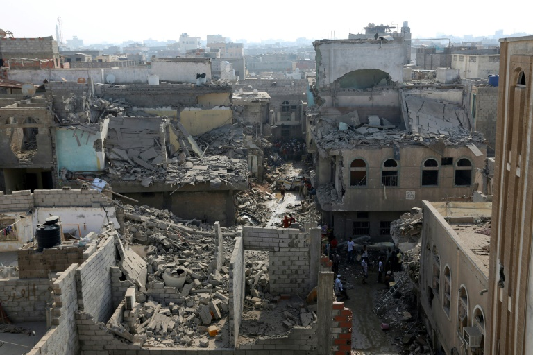 O enviado da ONU, Martin Griffiths, pediu que as potências mundiais apoiem %u200B%u200Bo novo impulso para as negociações de paz no Iêmen, cuja guerra é descrita como a pior crise humanitária do mundo. Foto: AFP/Arquivos / STRINGER