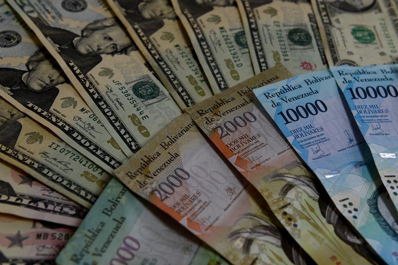 A Venezuela enfrenta quatro anos de recessão. Foto: Federico Parra / AFP