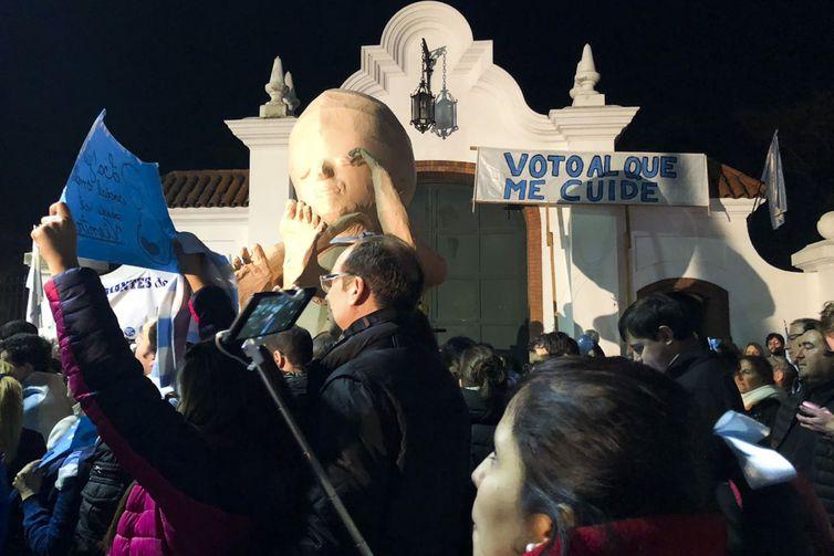 Às vésperas de votação no Senado, Argentina se divide em relação a aborto. Foto: Monica Yanakiew/Agência Brasil