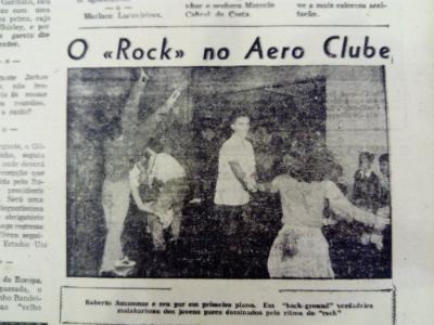 Rock no Aero Clube domina jovens. Diario de Pernambuco, 9 de junho de 1957.