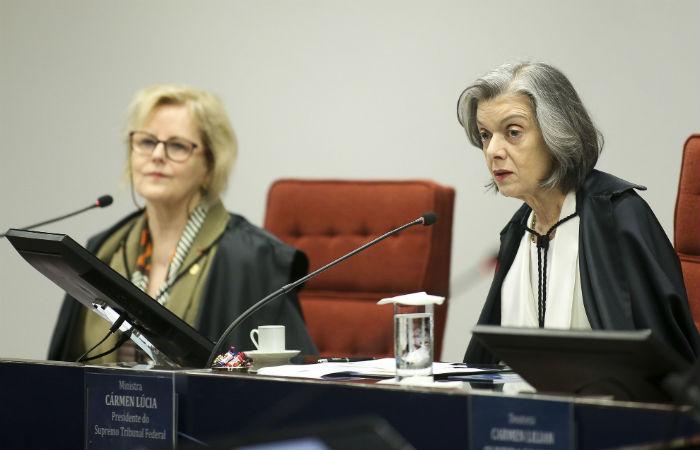 Ministras Rosa Weber e Carmen Lúcia  Foto: Marcelo Camargo / Agência Brasil