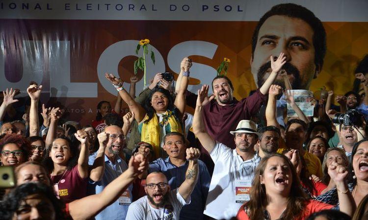O PSOL confirmou a candidatura de Guilherme Boulos à Presidência da República - Rovena Rosa/Agência Brasil