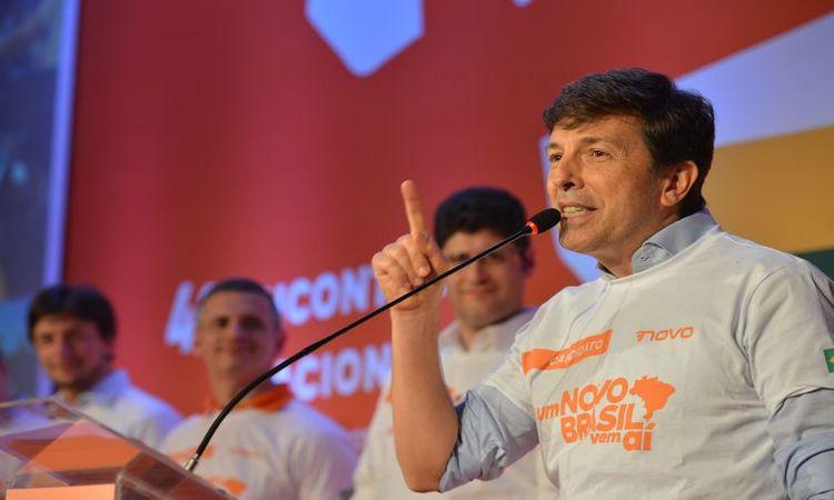 Partido Novo confirma João Amoêdo como candidato a presidente - Rovena Rosa/Agência Brasil
