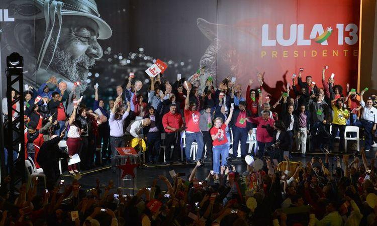 Convenção nacional do PT escolheu Lula para candidato a presidente - Rovena Rosa/Agência Brasil