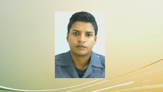 Imagem da PM Juliane Santos Duarte, de 27 anos, encontrada morta após desaparecer na favela de Paraisópolis. Foto: Reprodução/TV Globo