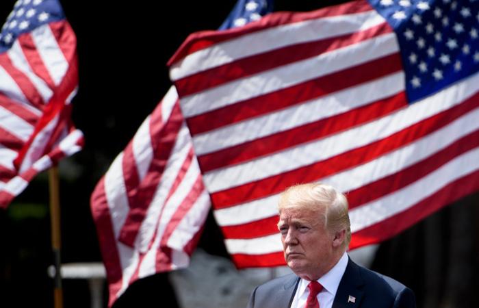 """O presidente dos Estados Unidos, Donald Trump, assegurou que as sanções novamente impostas ao Irã são as """"mais duras"""". Foto: Brendan Smialowski / AFP"""