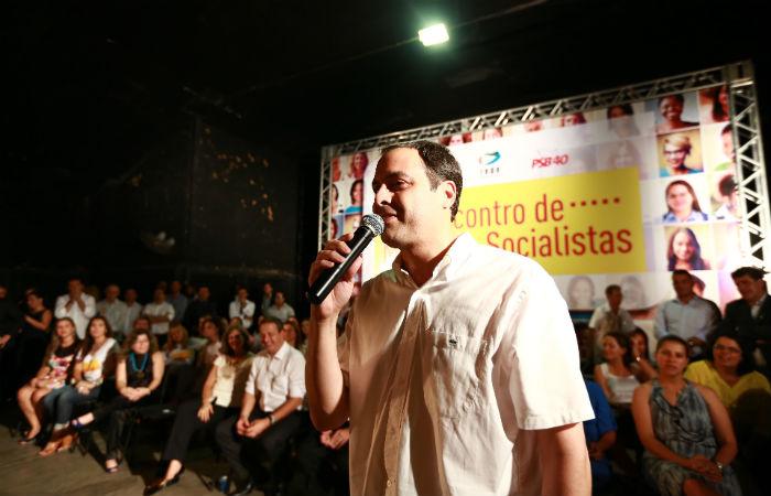 Paulo Câmara é um dos 16 governadores que tenta reeleição em 2018 Foto: Bernardo Dantas / Arquivo / DP