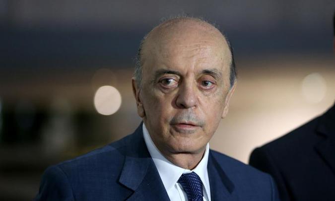Em fevereiro de 2017, José Serra precisou se afastar do cargo de ministro das Relações Exteriores por razões de saúde. Foto: Wilson Dias/Agência Brasil