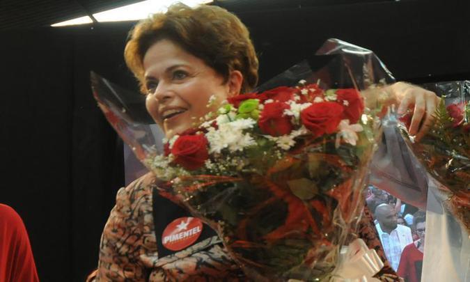 A ex-presidente, que concorre ao Senado, falará sobre seu afastamento da presidência. Foto: Beto Novaes /EM/D.A Press
