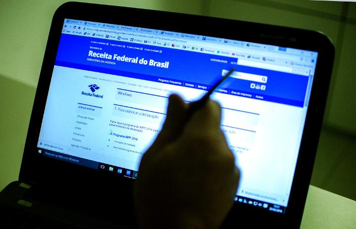 O usuário deverá acessar a página da Receita na internet ou ligar para o Receitafone 146 para saber se a declaração foi liberada.  Foto: Marcelo Camargo/Agência Brasil
