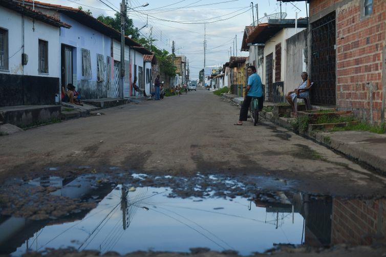 Saneamento básico. Foto: Marcello Casal Jr/Arquivo Agência Brasil