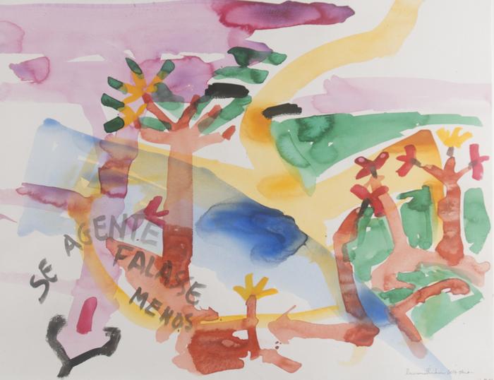 Mostra reúne cerca de 30 obras entre aquarelas, pinturas acrílicas sobre telas e colagens. Foto: Divulgação