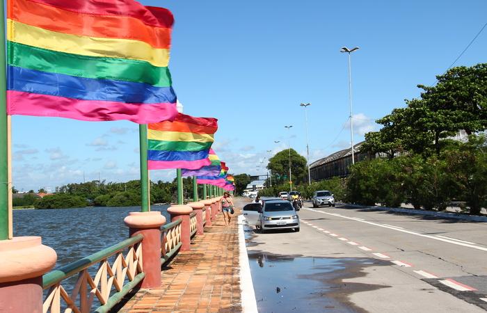 Levantamento vai ajudar traçar perfil da comunidade LGBT de todo país, inclusive no Recife. Imagem: Karina Moraes/DP