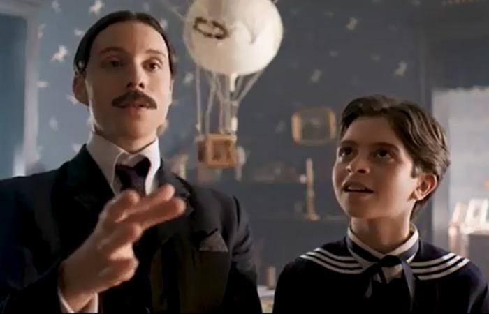 Teaser exibe fragmentos da vida de Santos Dumont. Foto: Divulgação/HBO