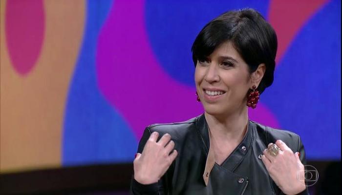 Maria Clara trabalha há três décadas com humor. Foto: Reprodução/TV Globo