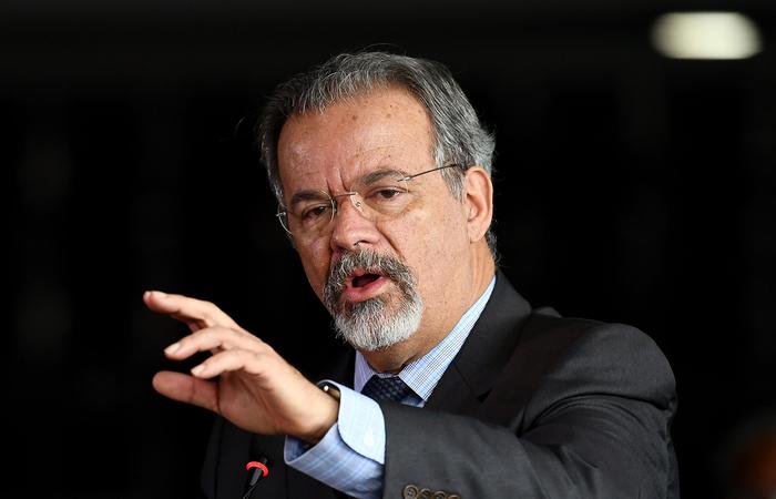 Jungmann citou a liberação de R$ 1 bilhão para estados e municípios comprarem novas viaturas policiais. Foto: Evaristo Sá/AFP (Foto: Evaristo Sá/AFP)