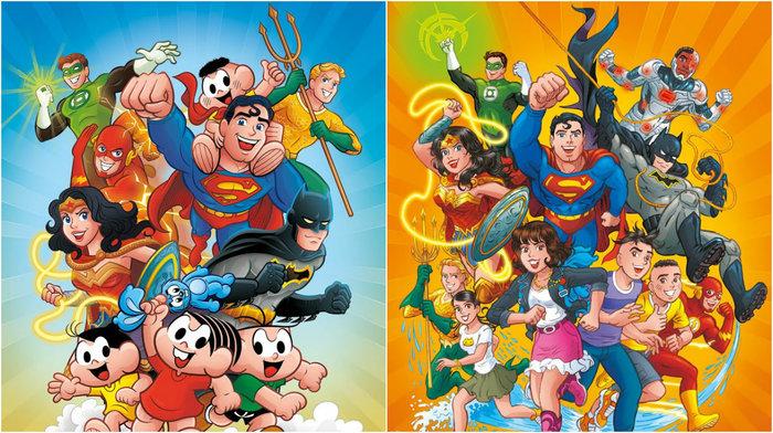 Encontro será visto nos quadrinhos tradicionais e também na Turma da Mônica Jovem. Crédito: Panini/Divulgação