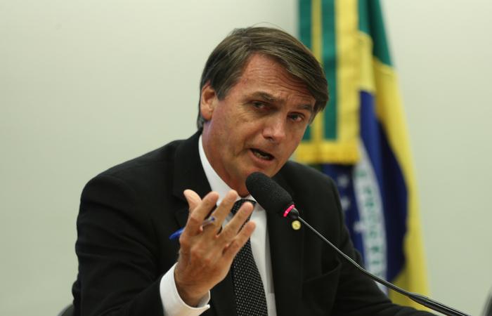 Deputado federal Jair Bolsonaro, presidenciável do PSL. Foto: Fotos Públicas