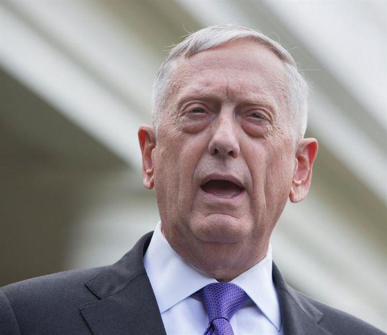 James Mattis, secretário de Defesa dos EUA. Foto: Chris Kleponis/EFE/Direitos Reservados