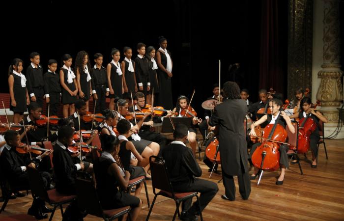 s 88 anos de história do Conservatório Pernambucano de Música serão comemorados no Teatro de Santa Isabel. Foto: Ricardo Fernandes/DP