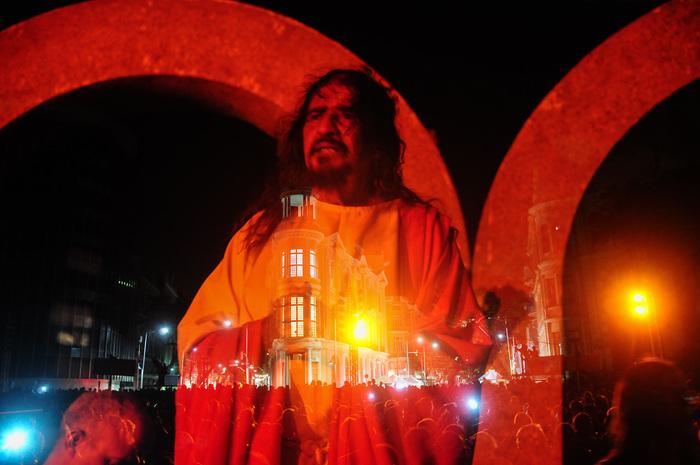 Artista interpretou Jesus por 20 anos na Paixão de Cristo do Recife. Foto: Paulo Paiva/DP