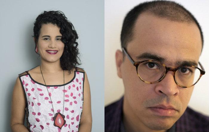 Os convidados Mariana Lima e Alexandre Belém. Fotos: Keila Castro; Divulgação.
