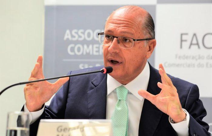 O candidato Geraldo Alckmin Foto: Rovena Rosa/Agência Brasil (Foto: Rovena Rosa/Agência Brasil)