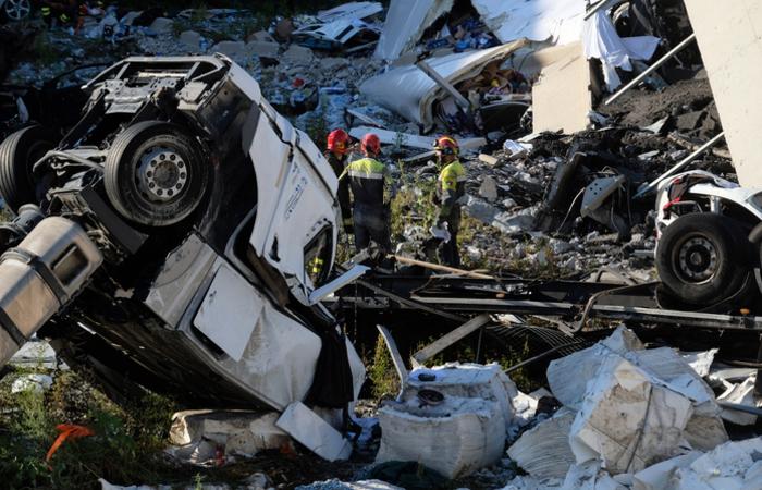 O último boletim mantém a contagem de 39 mortos e 16 feridos, nove em estado grave. Foto: ANDREA LEONI / AFP
