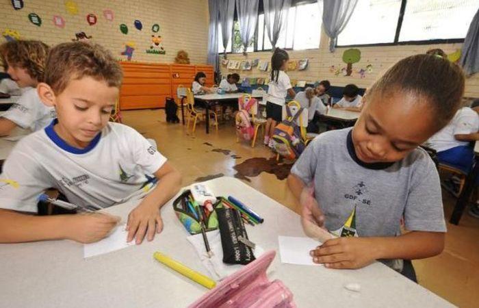 No último dia 1º, o STF decidiu manter a validade da norma que definiu a idade mínima em que crianças podem ser matriculadas. Foto: Arquivo/ Agência Brasil