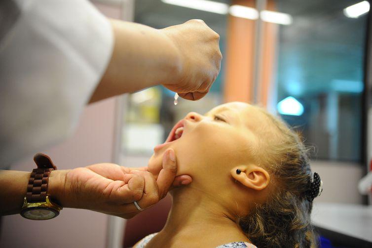Campanha de vacinação contra o sarampo e a paralisia infantil. Foto: Tomaz Silva/Arquivo Agência Brasil