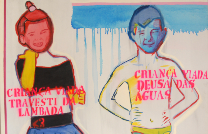 A mostra será praticamente igual à de Porto Alegre, com as mesmas obras provocativas que escandalizaram o Movimento Brasil Livre (MBL). Foto: Queermuseu/Divugação