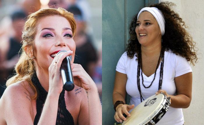 Além das próprias músicas, Luiza Possi preparou três clássicos do samba. Fotos: Facebook/Reprodução; Blenda Souto Maior/Esp. DP