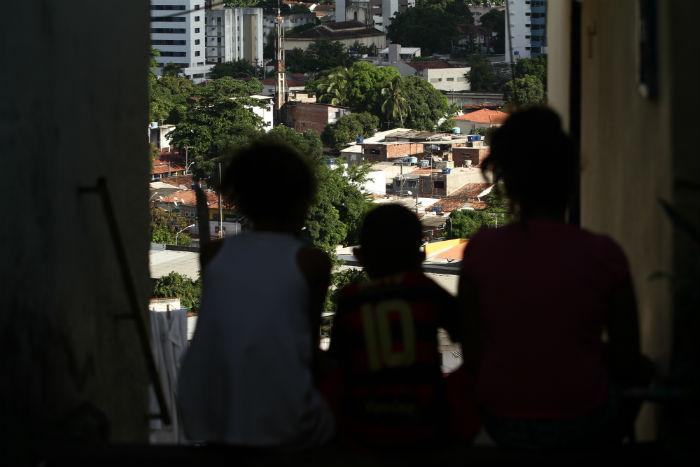 No Brasil, em 2017, 13,7% dos domicílios recebiam dinheiro do Bolsa Família. Foto: Peu Ricardo/ DP.