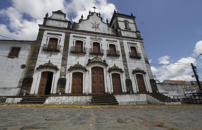 O Sitio Histórico de Igarassu e a Igreja de São Cosme e Damião, a mais antiga do Brasil. Imagem: Arquivo/DP.