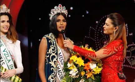"""No ano passado, ao vencer o miss Venezuela, Sthefany Gutierrez disse """"não se brilha apagando os outros"""". Foto: instagram"""