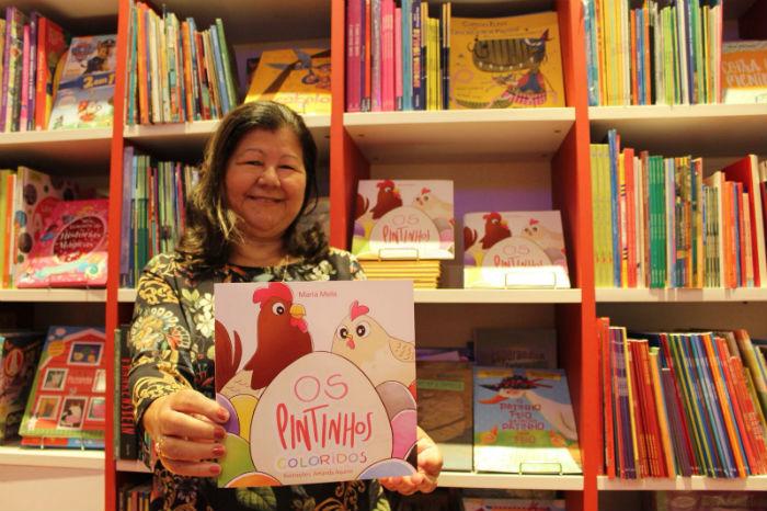 O livro, escrito por Maria Melo, tem ilustrações da pernambucana Amanda Aquino. Foto: Anamaria Nascimento/DP.