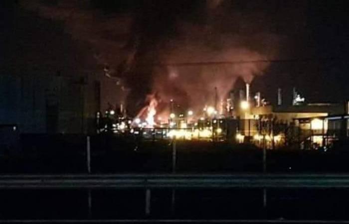 Incidente começou pela madrugada e brigada foi acionada para conter as chamas. Foto: Reprodução/Twitter
