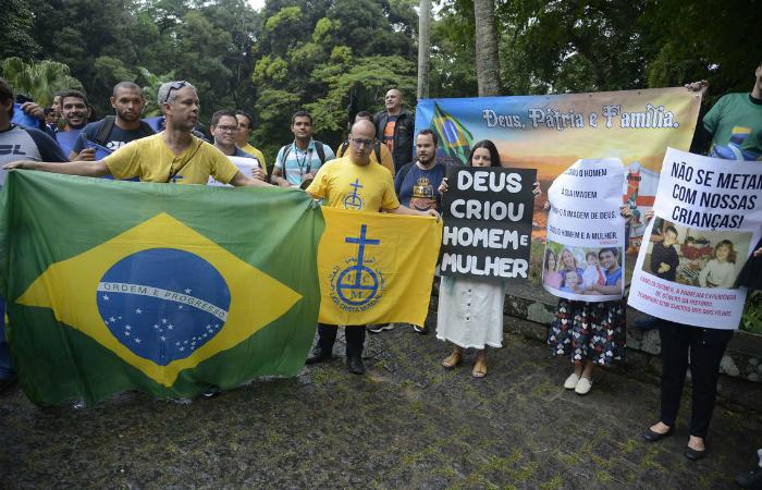 A mostra abriu no Parque Lage depois de ficar apenas 26 dias em cartaz em Porto Alegre no ano passado. Foto: Tomaz Silva/Agência Brasil