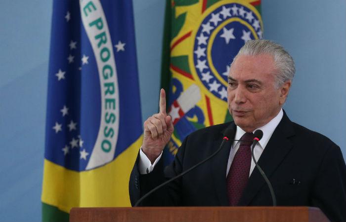 Na pesquisa anterior, realizada em maio deste ano, a reprovação de Michel Temer era menor que 82,5%. Foto: José Cruz / Agência Brasil